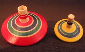 Jeux et jouets jouets en bois japonais toupie 2 tages - Code promo berceau magique frais port ...